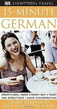 15-minute German By Goulding, Sylvia -exlibrary