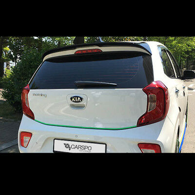 Rear Trunk Roof Wing Spoiler UNPAINTED 1p For 2008 2012 Borrego