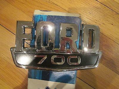 NOS 1983 1984 FORD F700 BODY EMBLEM