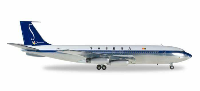 HE558280 Herpa vinges Sabena 707 -320 1 200 OO -SJA modellllerlerl Airplan