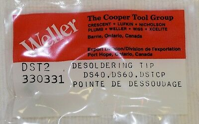 """DS60 New Weller DST2 0.090/"""" x 0.046/"""" Threaded Tiplet for DS40 DSTCP"""
