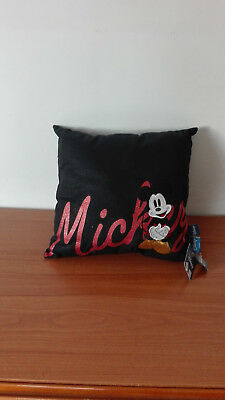 Cuscino Michey Mouse Disney 36x34cm Numerosi In Varietà