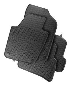 Schrägheck  Passform Gummimatten mit rand Fußmatten für SEAT IBIZA V 5 KJ1 2017