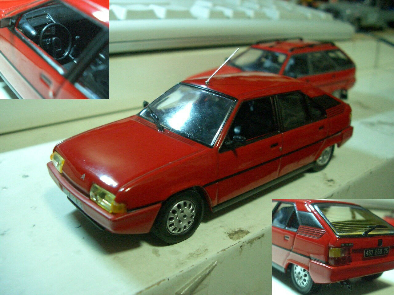 1 43 Citroen BX 16 TRS (1983) diecast