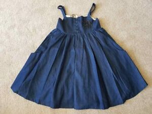 New-Girls-Designer-Angel-and-Rocket-Sold-Next-Party-Dress-Blue-Age-4-8-10