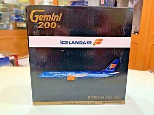 1-200-GEMINI-JETS-ICELANDAIR-BOEING-757-200-ITEM-NO-G2ICE676-MINT-CONDITION