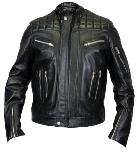 Leader Out The Biker Chopper di Jacke Motorrad Stepp Il Rocked capo Lord Lamb Rocker nwX6qPY8x