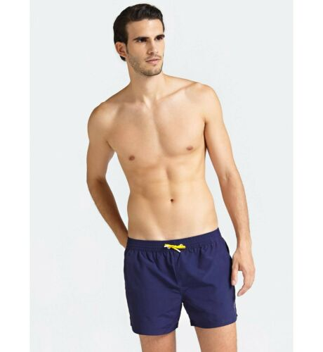 Costume Boxer Uomo GUESS Los Angeles F92T00TEL27 Estate 2019 BLU NAVY Logo