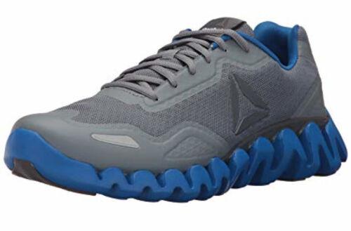 Reebok Men/'s Zig Pulse BS7392 Blue Grey Gray Mens Running Athletic Shoes Sizes