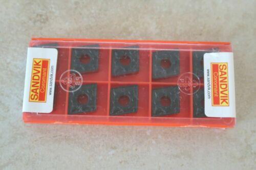 10 new SANDVIK Coromant CNMG 432-PM Grade 4225 Carbide Inserts 12 04 08-PM