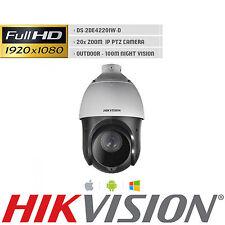 PTZ IP CAMERA HIKVISION DS-2DE4220IW-D 2MP 1080P 4.7-94mm 20x Zoom 100M IR ONVIF