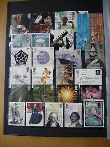 lot-89-sellos-Briefmarken-stamps-UK-GB-Grossbritannien-Reino-Unido-modern