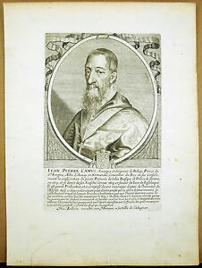 Jean-Stone-Camus-Bishop-Belley-Theologian-Abbot-of-Aunay-c1680-Engraving-Xviie