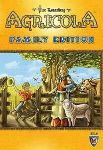 Agricola Family Edition Board Game Mayfair Games Edition Lookout MFG 3514 Kids