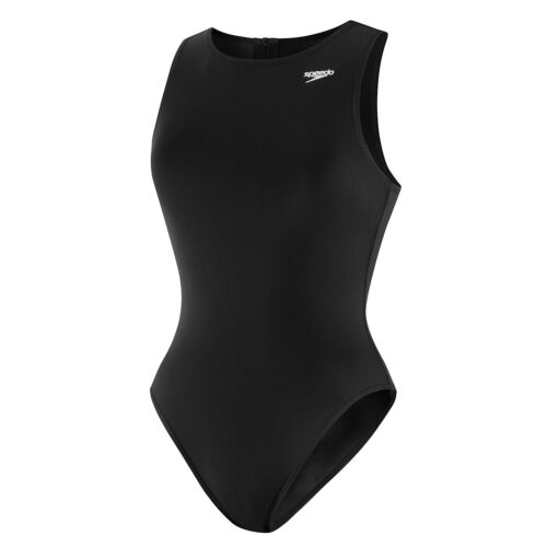 Black New with Tags Speedo Size 26 Female Avenger Water Polo Suit Endurance