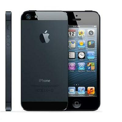 NEW UNLOCKED APPLE iPHONE 5 16GB (BLACK) IOS9 WITH FREE GIFTS