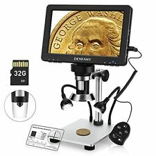 7 Inch Lcd Digital Microscope With 32gb Tf Card 1200x Maginfication 1080p