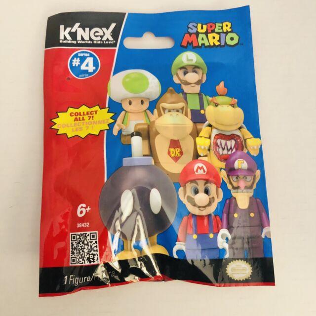 Nintendo Super Mario K'NEX Series 4 Mystery Pack Collectible Mini Figure NEW