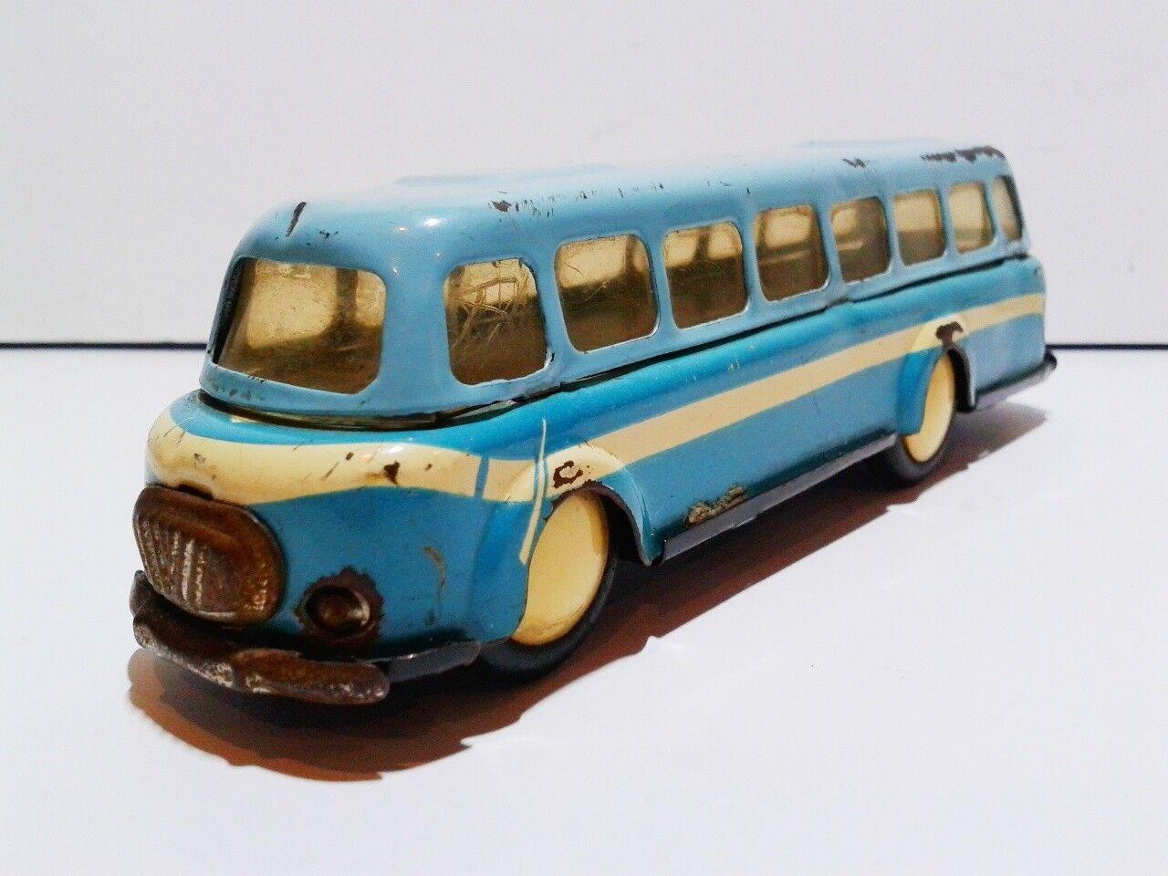 RARE CSSR CZECHOSLOVAKIA omnia strojsmalt SKODA RTO 706 TIN PLATE friction 1964