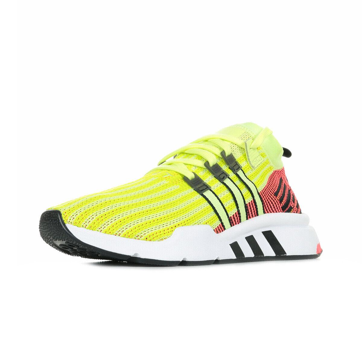 Schuhe adidas Herren EQT Support Mid Adv Primeknit gelb
