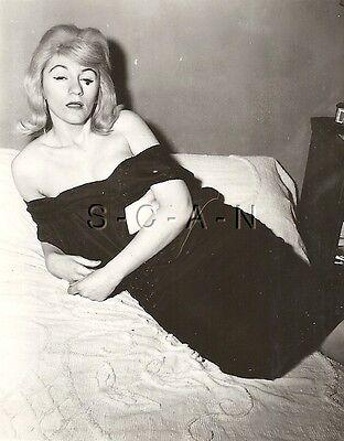 Original Vintage 1940s-60s Nude RP- Woman Undresses- Takes