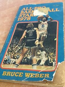 Bruce-Weber-Book-All-Pro-Basketball-Stars-1978-Rare-kareem-Abdul-jabbar