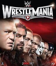 WWE: Wrestlemania XXXI (Blu-ray Disc, 2015, 2-Disc Set)