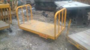 Heavy Duty Industrial Steel Carts 32W x 60L  with steel and wood decks Manitoba Preview