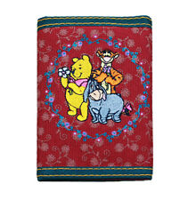 Disney Winnie the Pooh Eeyore Trifold Kids Wallet Unisex Pink and Blue