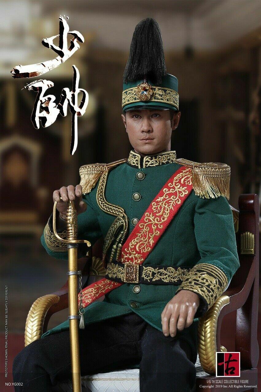 1 6 YG002 yuegutang media Warzone el joven comandante Figura Modelo Exclusivo Ver.