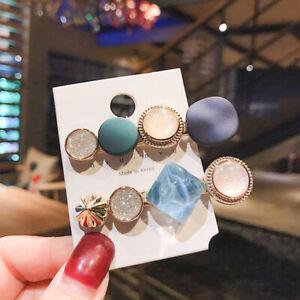 Bobby pin Vintage Geometry Jewelry Girls Fashion Women Hair pin Hair clip Sweet