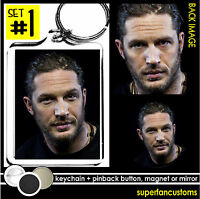Tom Hardy Keychain + Button Or Magnet Or Mirror Pin Bane Inception Bronson 1323