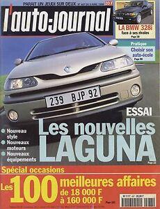 L-039-AUTO-JOURNAL-1998-n-487-Renault-Laguna-BMW-328i-Opel-Zafira-Toyota-Prius