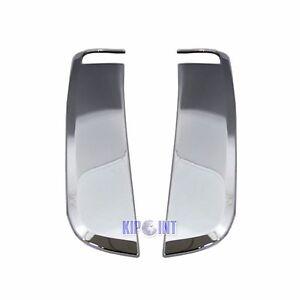 Chrome Side Fender Shark Vent Cover Trim For Jaguar Xk Xkr