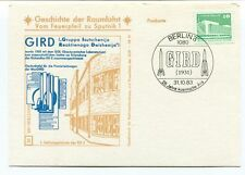 1983 Geschichte Raumfahrt Vom Feuerpfeil Sputnik 1 Gird Jahre Kosmische Ara DDR