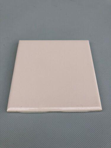"Vintage Ceramic Wall FLORIDA TILE 4 3//8/"" BLUSH NEW old stock NOS Light Pink"