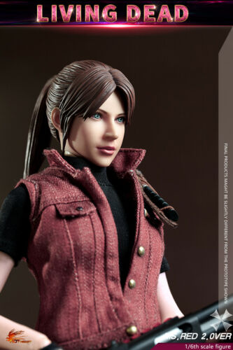 Hot Heart 1//6 FD008 Ms.Red 2.0 Resident Evil Living Dead Claire Figure Toys Doll
