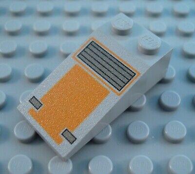 LEGO Light Gray 4x2 Star Wars Disney Snowspeeder Slope