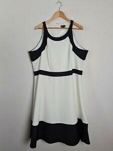 City-Chic-Black-amp-White-A-Line-Party-Cocktail-Dress-Women-039-s-PLUS-Size-XL-22
