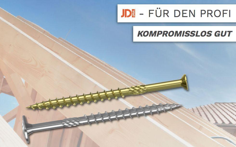 KONSTRUKTIONSSCHRAUBEN Dresselhaus JD Plus Tellerkopf Reibeteil Torx Teilgewinde