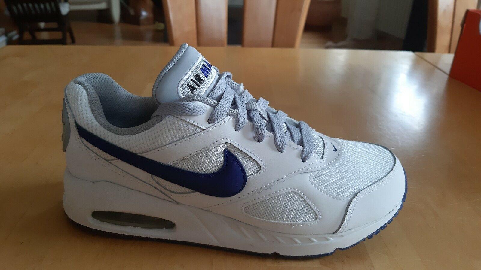 Nike Air Max Ivo (GS)  Weiß   Royal Blau Gr 38 UK 5 Turnschuhe NEU mit Karton