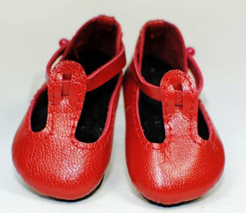 colors T-Strap leather shoes var Boneka Doll shoes size 60X