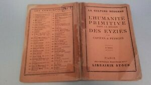 Capitan-amp-peyrony-HUMANIDAD-Primitive-Region-Las-Les-Eyzies-25-Figuras-1924-Stock