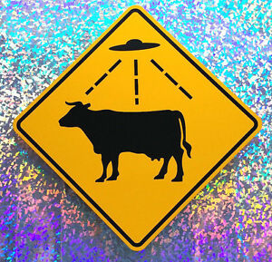 CATTLE-ABDUCTION-AREA-Aluminum-UFO-Watching-Sign-Roswell-Area-51-Alien
