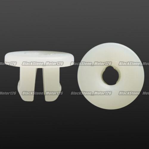 20 License Plate Nut #14 Screw Grommet Clip Retainer Fits For Nissan 62698-V7000