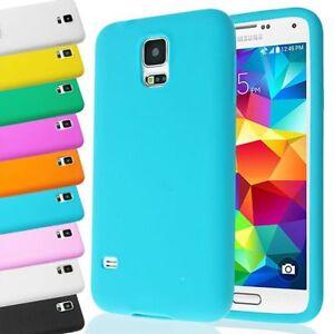 Funda-Anti-Golpes-Impactos-Simple-Suave-Silicona-Para-Samsung-Galaxy-S5-Sv-Nuevo