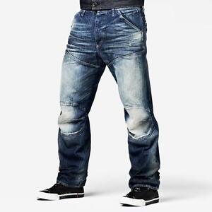 g star raw jeans 39 5620 3d loose 39 medium aged new rrp 289. Black Bedroom Furniture Sets. Home Design Ideas
