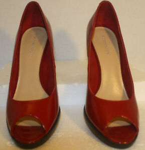 ff9e4844f6683 389-Worthington Womens Red Shoes Pumps w black Soles Heels size 9.5 ...