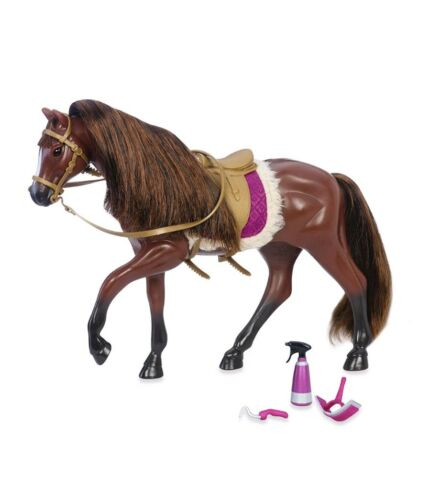 "Our Generation Girl 6/"" Lori Mini Doll American Quarter Horse Dark Brown"