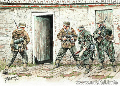 Masterbox 1:35 WW2 German Infantry Western Europe 1944-45